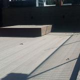 deck modular madeira plástica