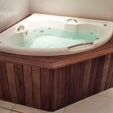 deck de madeira para banheiro Ilhabela