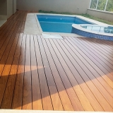 deck de madeira piscina ABC