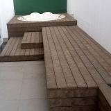 deck de madeira plástica Vinhedo