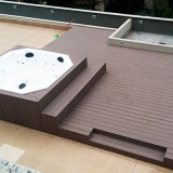 deck madeira plástica valor Ilhabela
