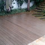 deck madeira plástica GRANJA VIANA