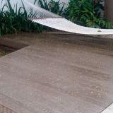 empresa que faz deck de madeira plástica Arujá