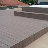 empresa que faz deck madeira plástica Tamboré -