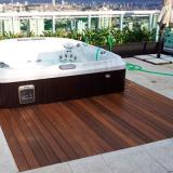 empresa que faz instalação de deck de madeira quintal ABC