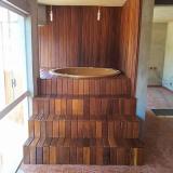 instalação de deck de madeira para quintal Pirapora do Bom Jesus