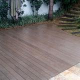 instalação de piso de madeira escuro São Caetano do Sul