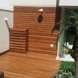 instalação deck de madeira valores Ilha Comprida