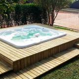 onde faz deck madeira modular Valinhos
