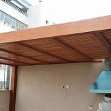 orçamento de pergolado de madeira roliça Indaiatuba