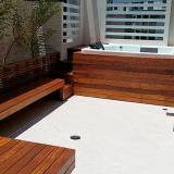 pergolado de madeira para jardim Itapecerica da Serra
