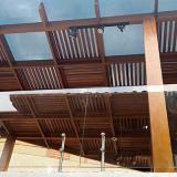 pergolado de madeira para quintal preço São Bernardo do Campo