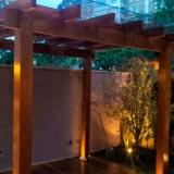 preço de pergolado de madeira para garagem Cananéia
